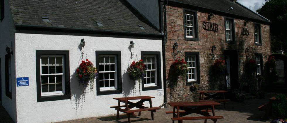 Stair Inn hotel in Ayrshire