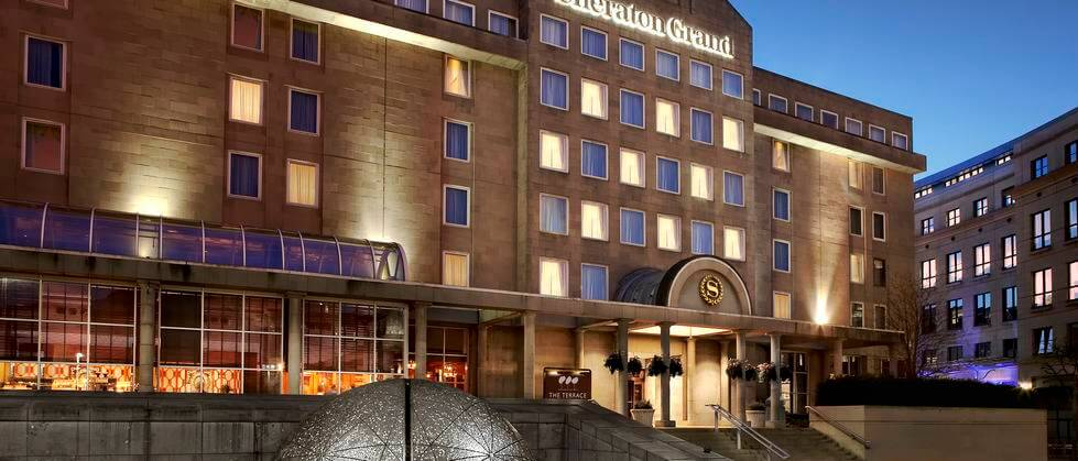 Sheraton Grand Hotel in Edinburgh